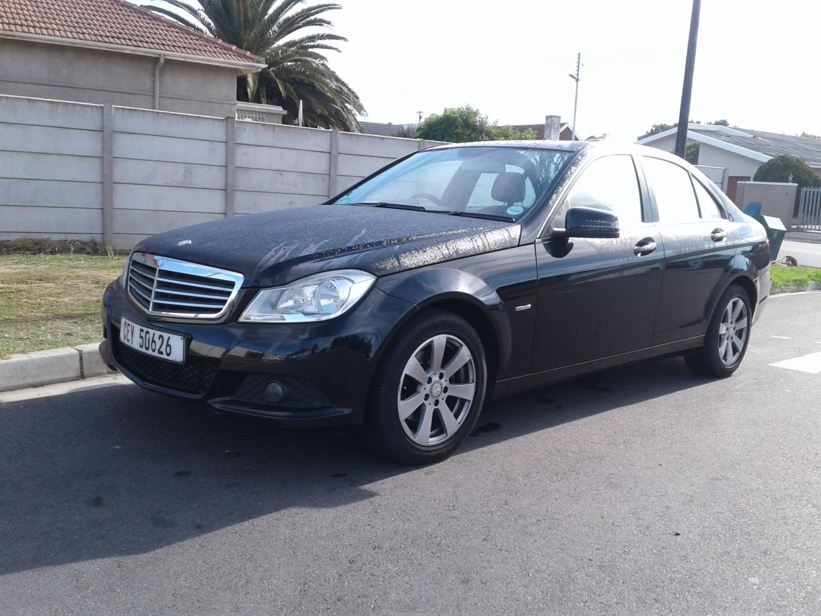 2012 MERCEDES-BENZ C-CLASS SEDAN C200 CDi CLASSIC  A/T